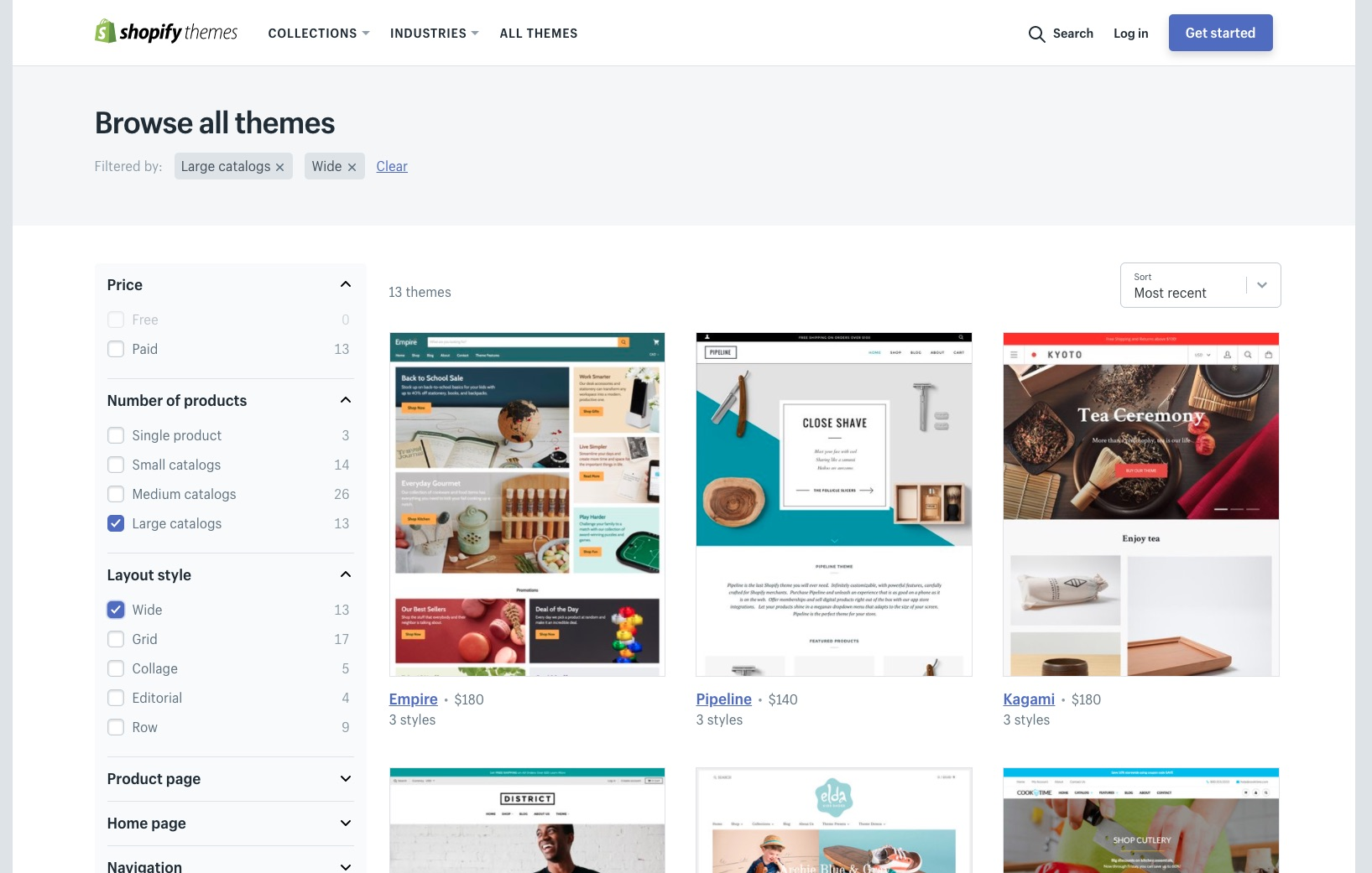 Shopify Theme Store Filter